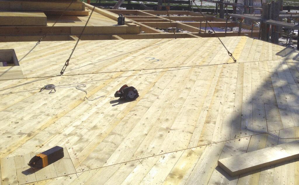 Holzbodenplatte
